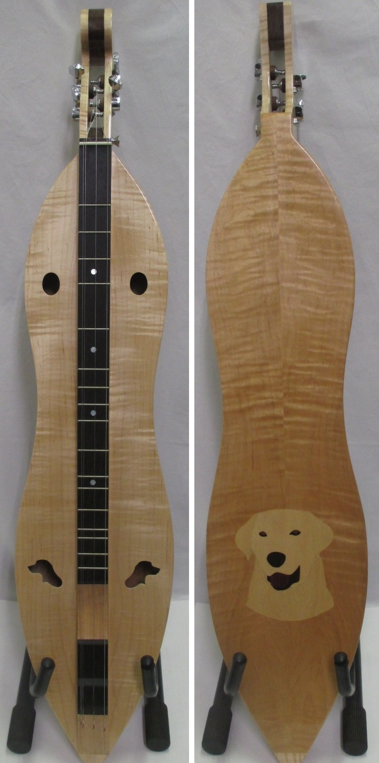 Curly Maple Labrador Dulcimer