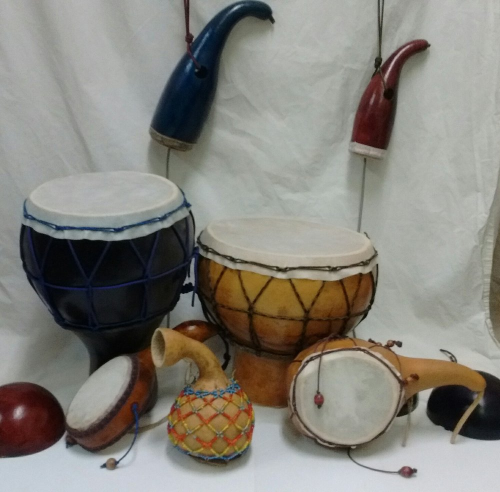 Gourd Percussion Instruments
