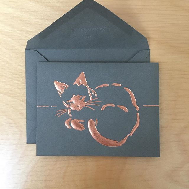 We love getting cute cat notes from our tenants!! . . . . . #catcard #notesfromtenants #botwinoffice