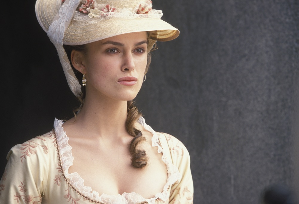 Elizabeth in Port Royal, probably thinking about how uncomfortable that dress is.