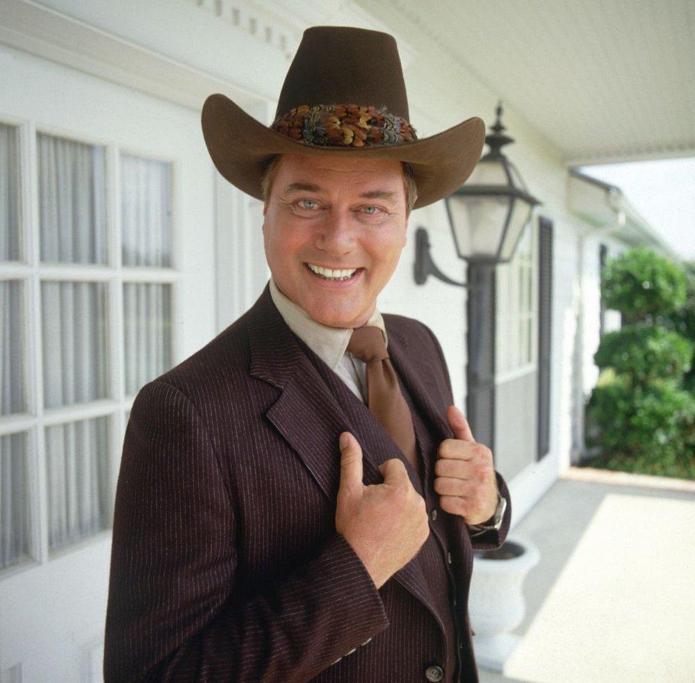 Larry Hagman as J.R. Ewing | Dallas
