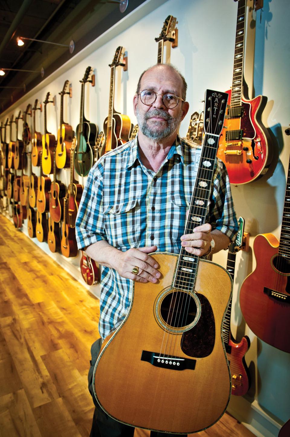 George Gruhn, Gruhn Guitars Founder/Owner. Picture credit: Nashville Scene