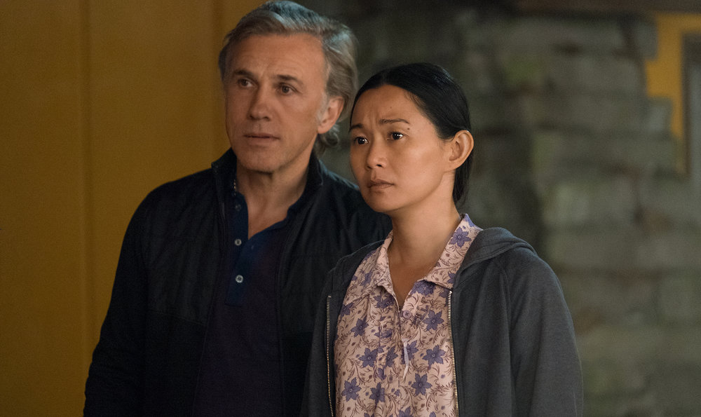 Christoph Waltz and Hong Chau  /Paramount Pictures