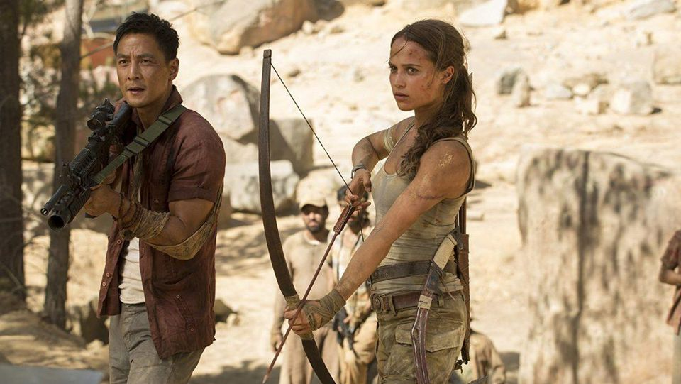 Daniel Wu and Alicia Vikander / Paramount Pictures