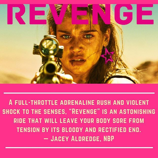 This was such a stellar movie! Check out my full review over at @nextbestpicture & lmk what y'all think 💝 . . . . #moviereview #revengemovie #filmreview #aldredgeentertainment #nextbestpicture #filmisnotdead #filmjunkie #cannes2018 #girlpower #metoo #horror #thriller #actionpacked #strongwomen #bemore #whattowatch #tacotuesday