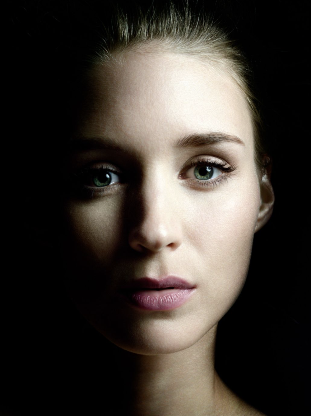 Renowned portrait photographer and photo journalist Platon. Actress Rooney Mara shown above.