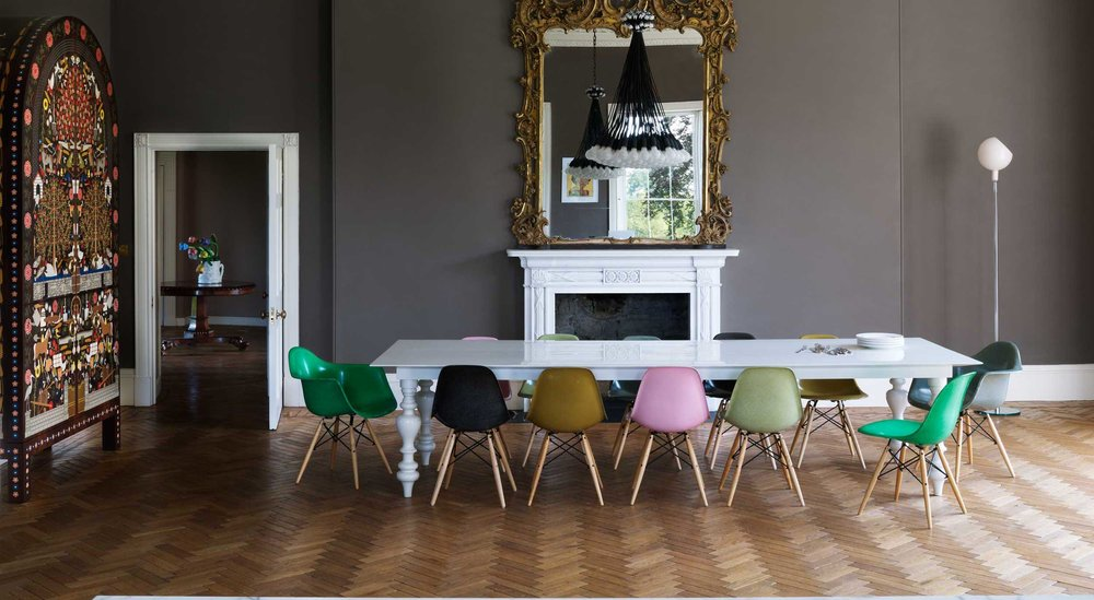 A Somerset residence designed by  Ilse Crawford , former editor in chief of ELLE Decoration UK