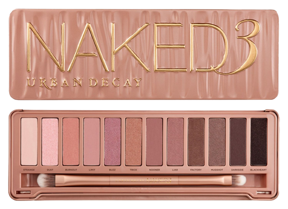 Urban Decay Naked 3 Eyeshadow Palette - 2600 PHP