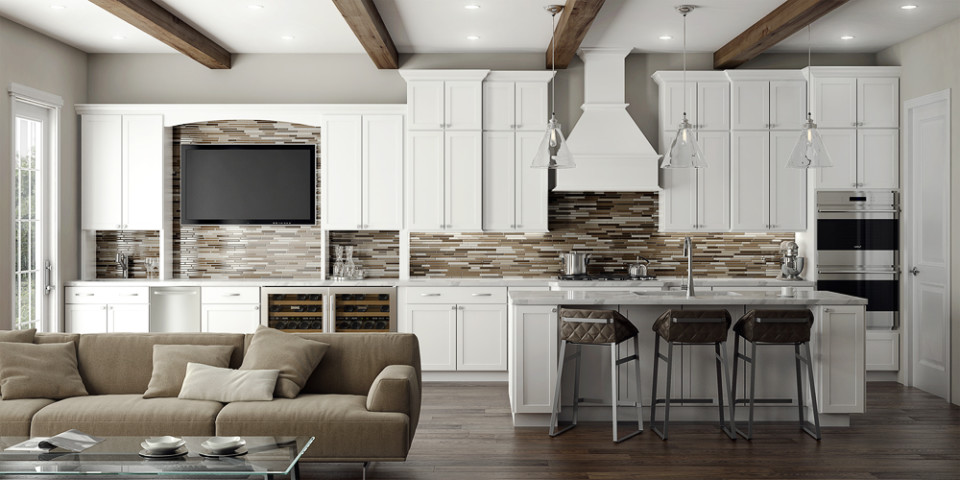Sprawling Cabinetry