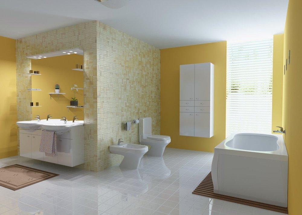 Colorful Bathroom