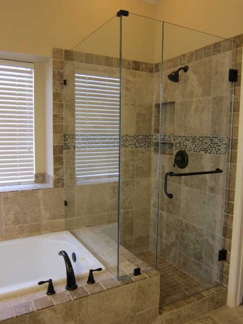 Shower and Garden Tub