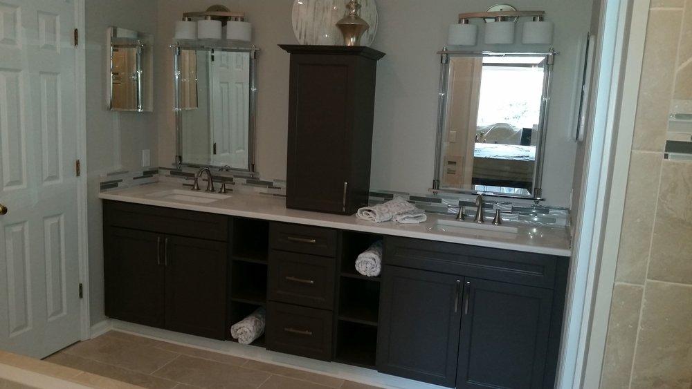 New Vanity Area