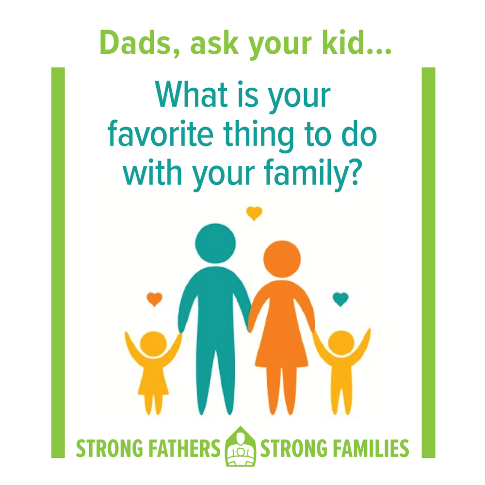 What is your favorite thing to do with your family?