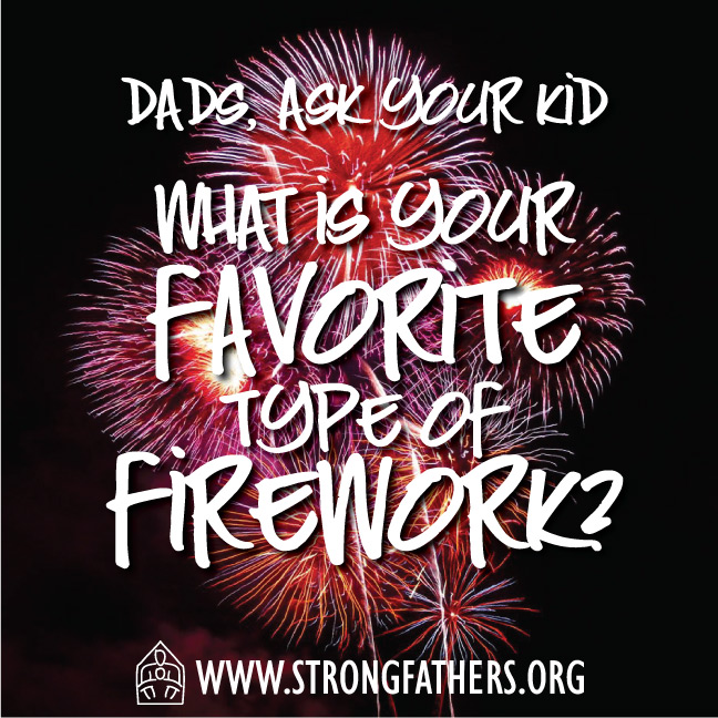 What is your favorite type of firework?
