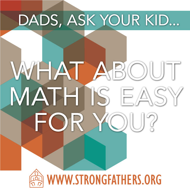 What about math is easy for you?