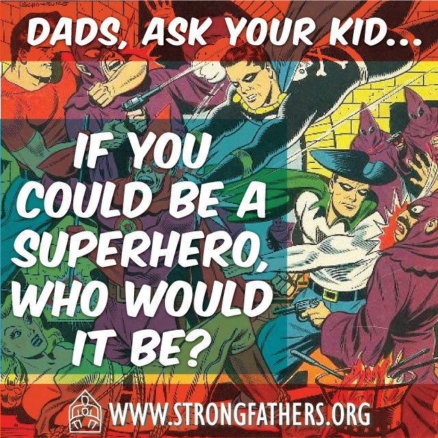 If you could be a superhero who would it be?