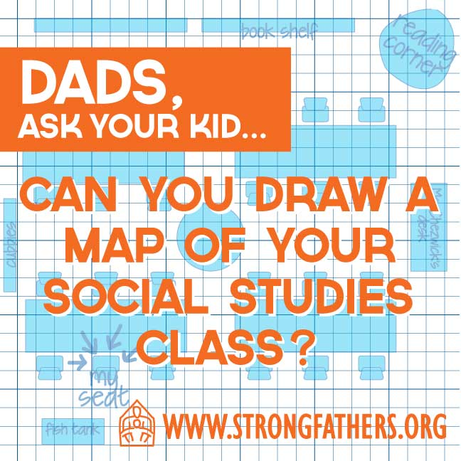 Can you draw a map of your social studies class?