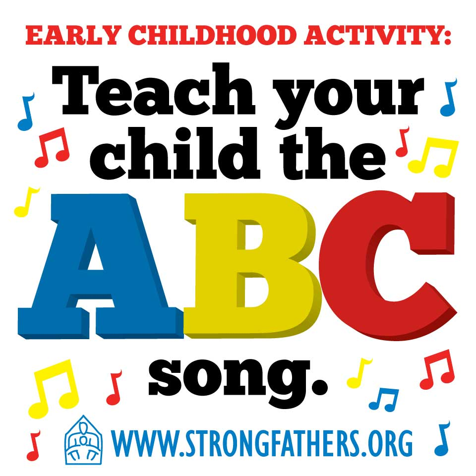 Teach your child the ABC song.