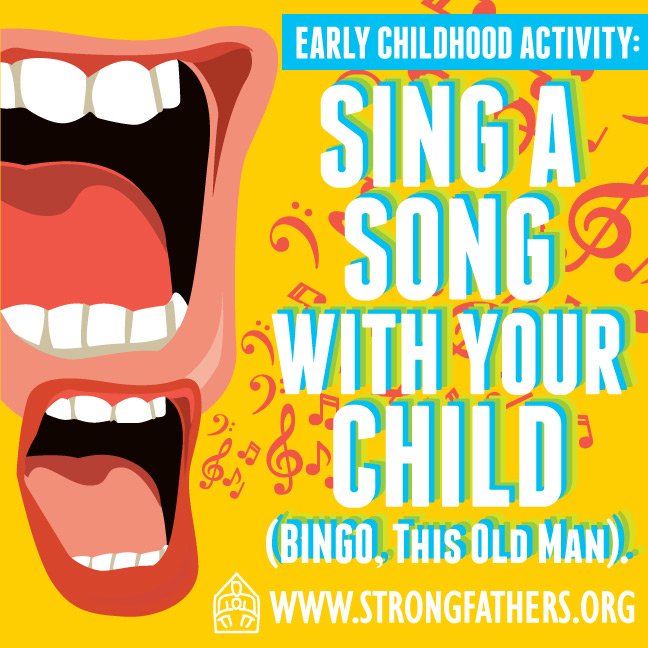 Sing a song with your child