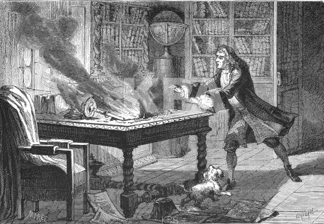 Now you know why Isaac Newton didn't want anyone to know that he practiced alchemy!