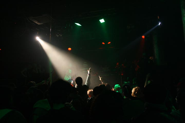 NInjasonik show in Chinatown circa 2010