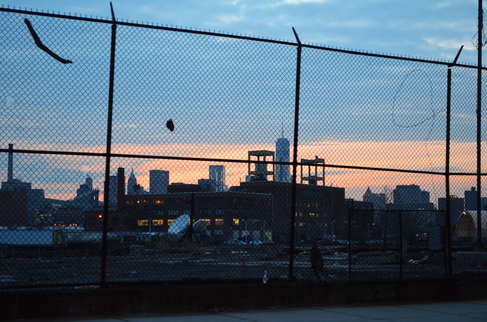 Greenpoint Sunset circa 2014