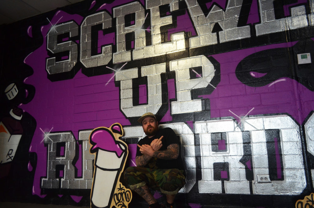 Screwed Up Records, Houston TX 2014