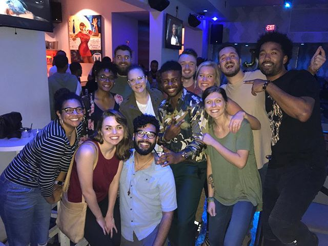 In a crazy turn of events, I was able to watch the Survivor Season 37 premiere at a viewing party in Atlanta with some Survivor alumni, including @themichaelab and last season's winner @wendellholland and I was able to invite my Survivor-watching friends with me!! I had an incredible time hanging out with you guys and all I gotta say is...#teamdavie @ihatedavie . . . #survivor #davidvsgoliath #season37