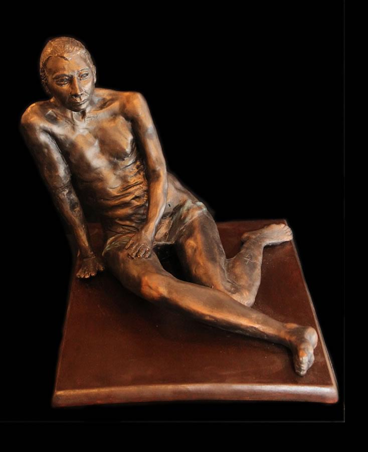 "ATI AHKAMI   Volumptious   Sculpture / Porcelain Clay Acrylic   12""H X 15""W"