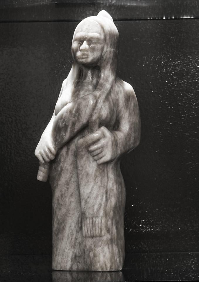 """DARREN GOWAN Ann Sculpture 13""""H x 5"""" W"""