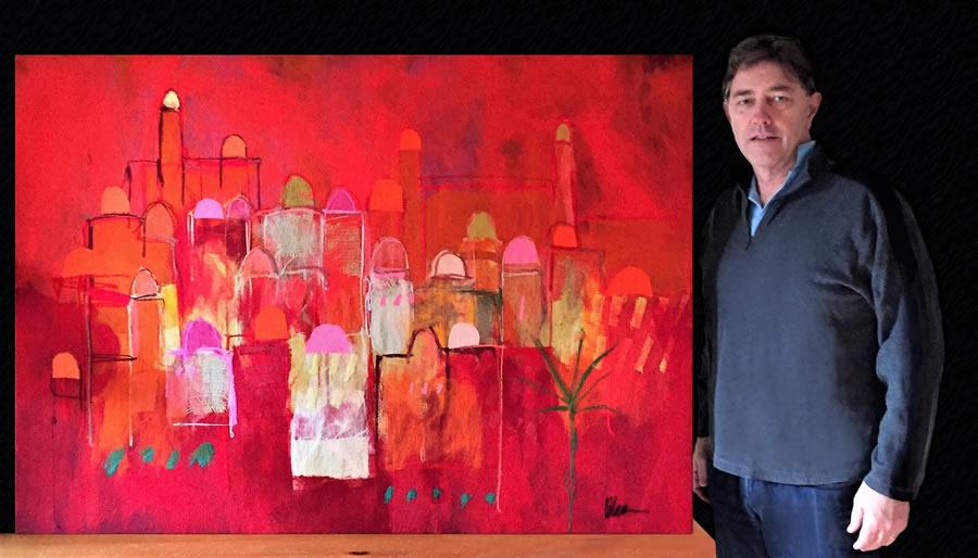 2017 Art Auction winner
