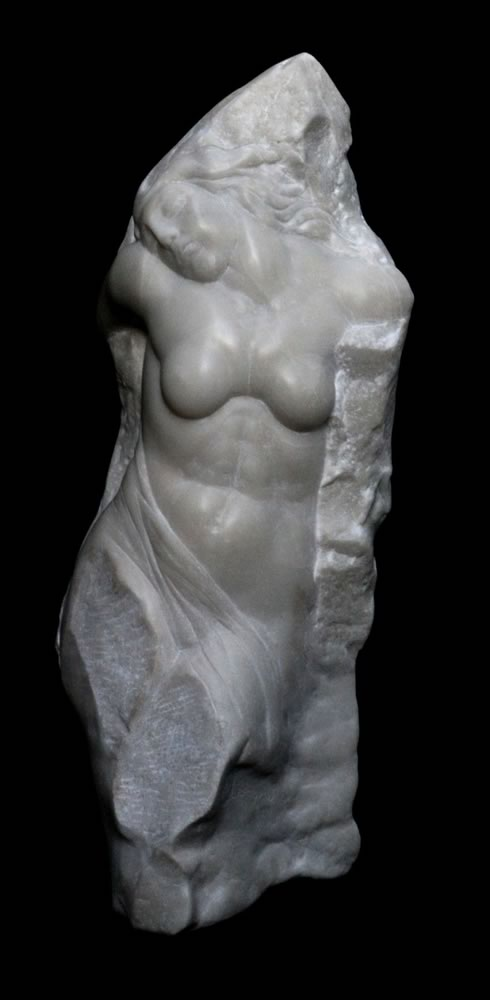 VALERI SOKOLOVSKI  Moonlight Italian carrara marble 28 inches
