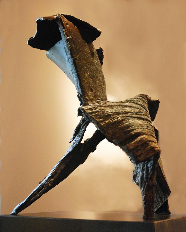 JOCK HILDEBRAND  Herd Original Bronze Sculpture 15 inches