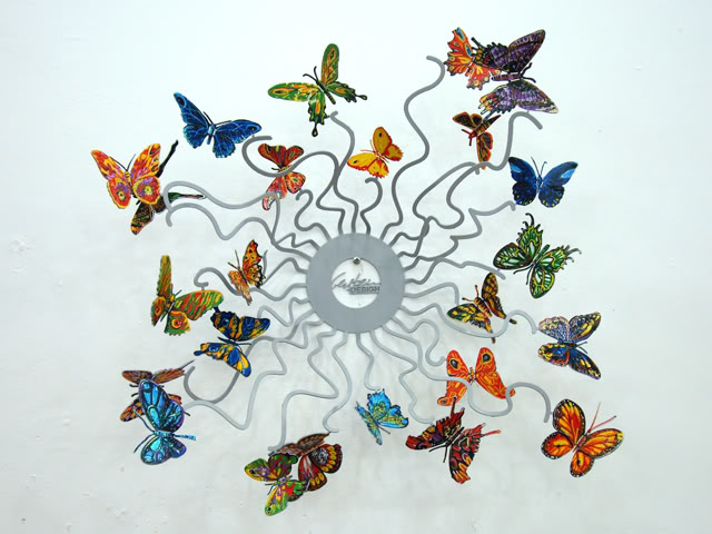 DAVID GERSTEIN Butterflies Forever  Original Metal Sculpture | Open Edition