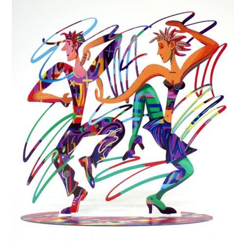 DAVID GERSTEIN Dancers Twisters  Original Metal Sculpture | Open Edition