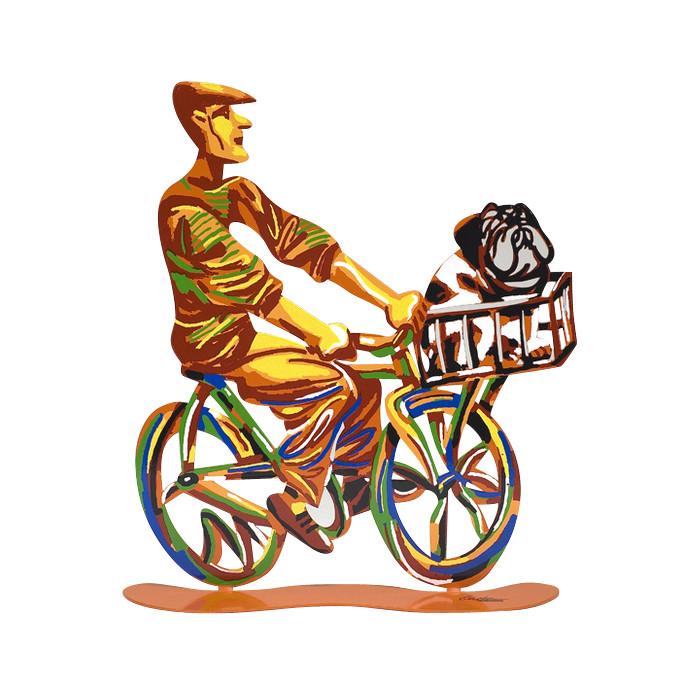 DAVID GERSTEIN Ride Country Rider  Original Metal Sculpture | Open Edition
