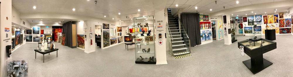 LeSoleil Fine Art Gallery - Downstairs 1