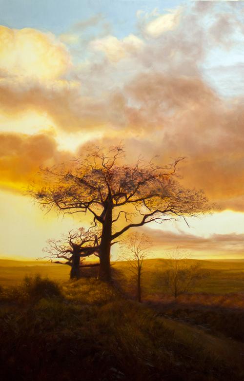 DAVID SHEPHERD  Harvest Original Oil 62 x 40