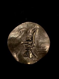 MIAAD ESHRAGHI  Silver Inuksuk Torch Original Sculpture 10 X 10