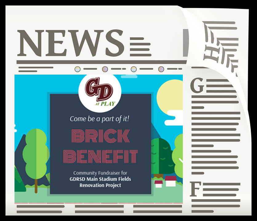 FOR IMMEDIATE RELEASE!News: GDatPlay 2018 Spring Mixer UpdateNews: 2018 GDatPlay Brick BenefitNews: 2017 GDatPlay Summer Update -