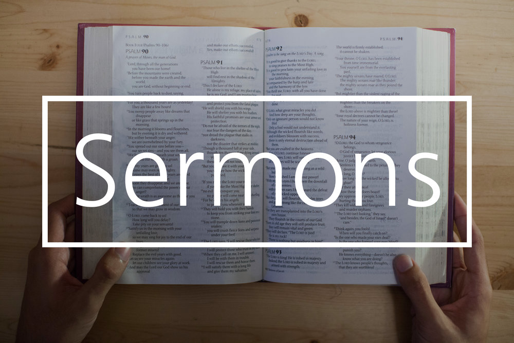 List of sermons and sermon series