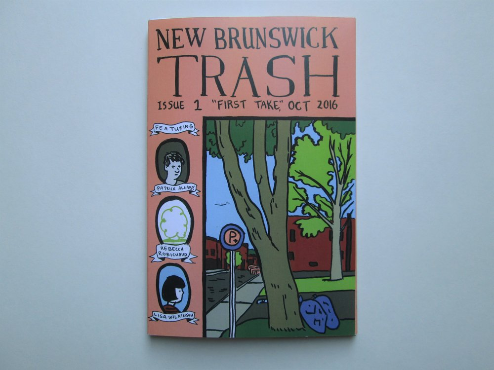Patrick Allaby New Brunswick Trash