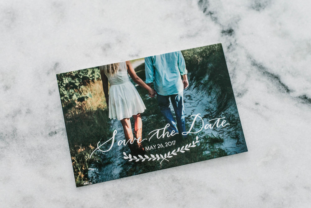Wedding Save the Date Card Hawaii