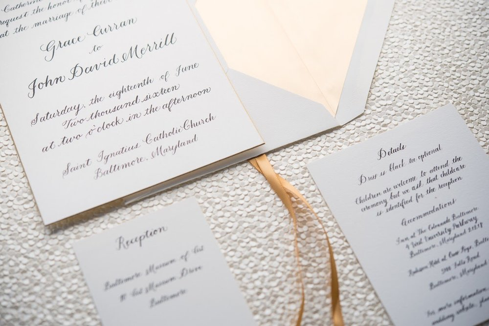 STATIONERY Design by Laney Custom Invitations and Calligraphy