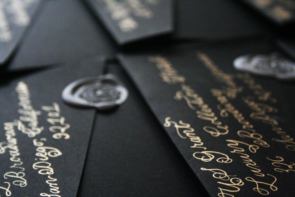 Wedding Calligraphy Envelopes.jpg