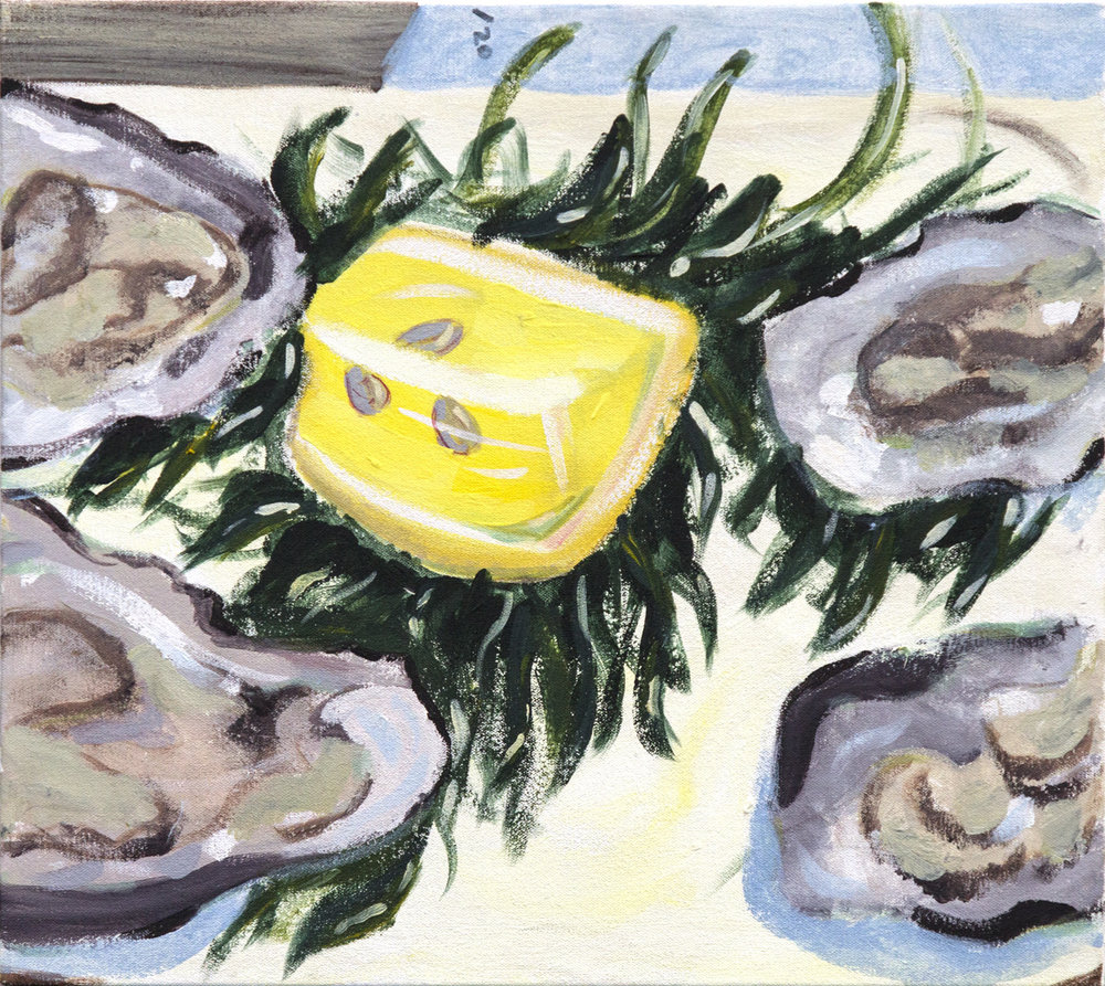 OYSTERS IN FALL, 2014