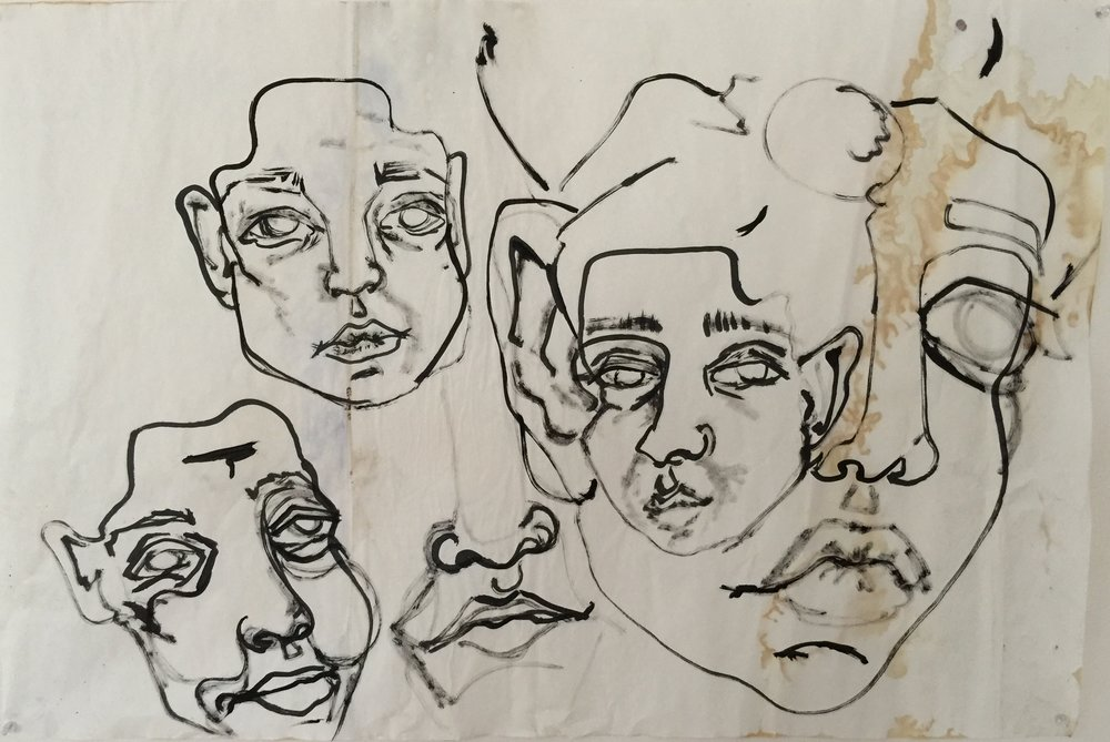 FACES AND STAINS, 2015