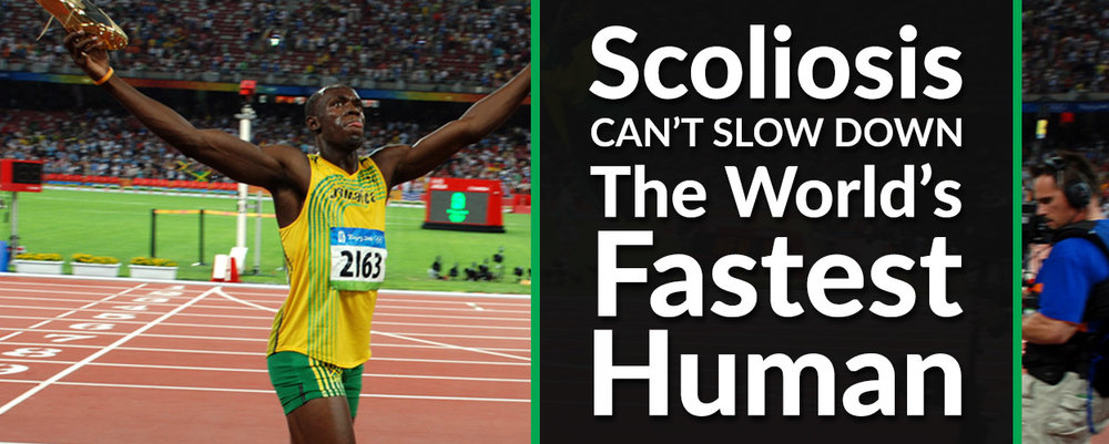 Scoliosis Can't Slow Down the World's Fastest Human