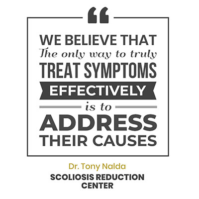 We believe that the only way to truly treat symptoms effectively is to adddress their causes