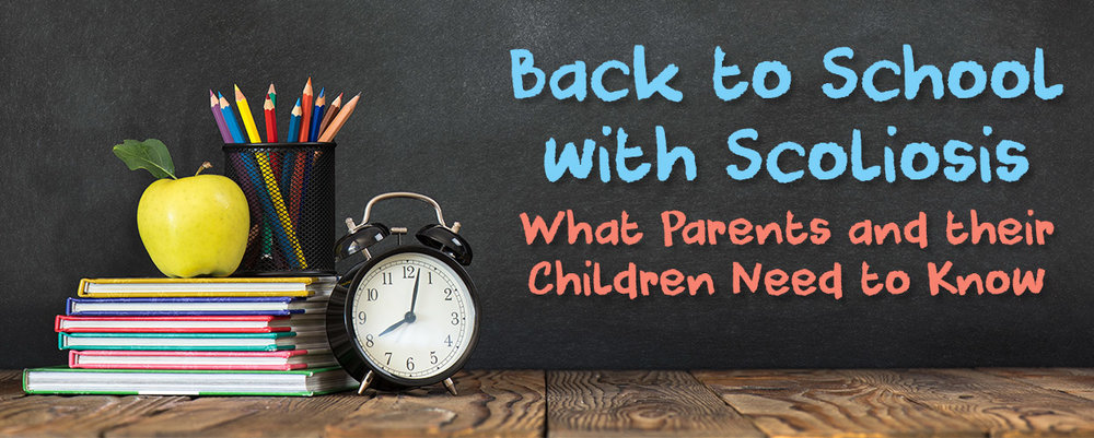 Back to School with Scoliosis